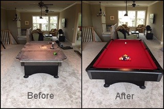 expert pool table recovering in Coos Bay content img3